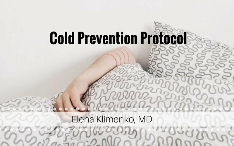 Cold Prevention Protocol